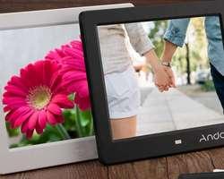 Παρουσίαση της Andoer 8″ HD Wide Screen High Resolution Digital Photo Frame με τηλεχειριστήριο